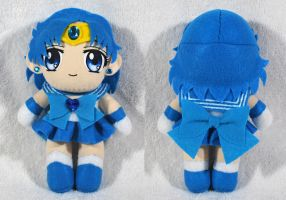 Sailor Mercury Plush by sakkysa