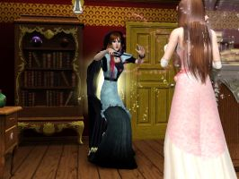 the sims 3 fairy vs witch by ng9