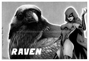Raven and Raven for... Raven by Delitescentrix