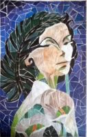 Woman of Substance Mosaic by cupycake66