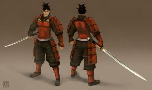 My Onimusha Game Model by saruzann
