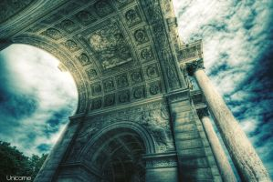 Arche in Paris by Unicorne