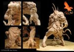 Creature Design Detail by firecrow78