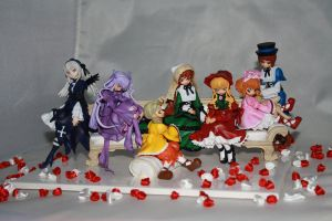 Rozen Maiden on couch set by Mako-chan89