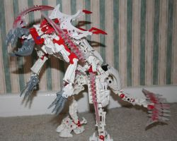 Bionicle MOC: Krika Dragon by Rahiden