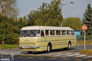 Ikarus 55 in Gyor on 2011 sept by morpheus880223