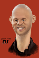 Jason Kidd by RahulUjjal