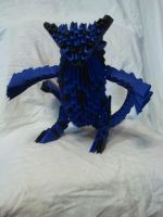 origami two tailed beast by kamui487