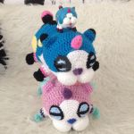 Meow Wow-DREAM DROP DISTANCE (with pattern) by HerOnceWhiteWings