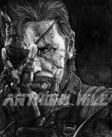 MGS V: Venom Snake by Wanted75