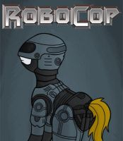 Robocop Pony by RydelFox