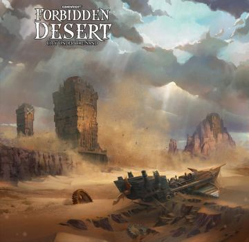 Forbidden desert Illustraion by TylerEdlinArt