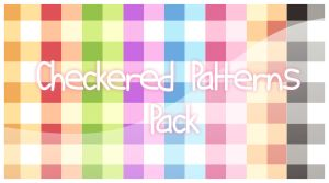 PS : Checkered-Patterns Pack by Pluvias