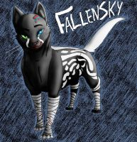 Fallensky Art-trade by hakura-lives