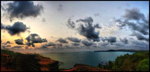Cabo de Rama Fort by nikhil