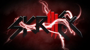 Red Skrillex Wallpaper 9-6-11 by xRi5iNG