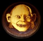Gollum - Pyrography by ckatt01