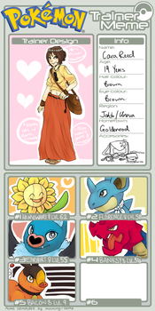 Pokemon Trainer Meme by carareed