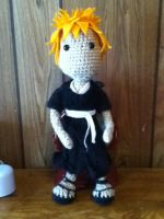 Ichigo Amigurumi Finished by AbsyntheMyndedArt