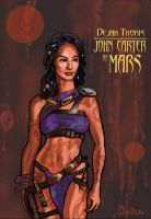 Dejah Thoris of Mars by Spacepuppet