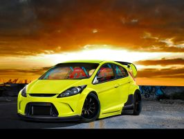 Ford Fiesta by dxprojects