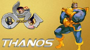 Thanos in DCCapMar Mugen Game by anubis55