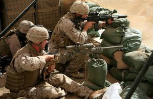 Marine Scout Snipers Fallujah by godlived