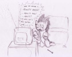 Can't deal with Reality by Silverweed91