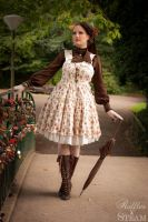 A Walk in the Park - Classic Lolita by AyraLeona