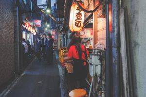 Piss Alley - Shinjuku by MarcAndrePhoto