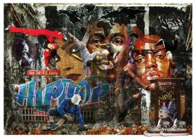HipHop Is Life by Fotomonta