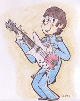 Sgt. Pepper's Lonely Hearts Club Band: Paul by KabouterPollewopje
