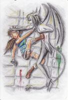 Ulquiorra vs Lara by tomboyish1dragon