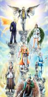 Seven Archangels of Heaven by Bob-Raigen