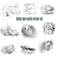 Scuffs and Skids brush set by Epic-phish