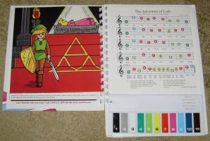 Vintage Nintendo Play-a-Sound book Zelda Song by avaneshop