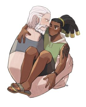 Reinhardt and Lucio by peyoberry