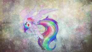 RainbowDash Wallpaper by xLovelyDeathx