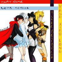 RWBY by Sogequeen2550