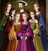 Henry VIII and His Wives by eternalkikyofan