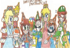 Happy Early Birthday ParatroopaCx!! by FelixToonimeFanX360