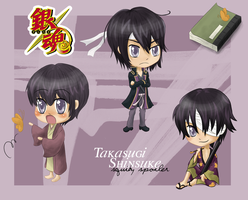 Takasugi Shinsuke by Roselephantine