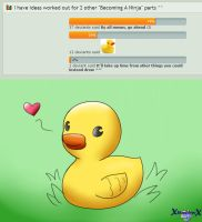 The Rubber Duck by xShadilverx
