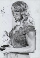 Portman's  first Oscar WIP 2 by AngelinaBenedetti