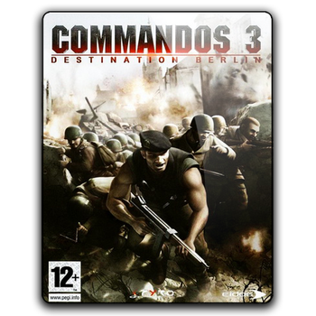 Commandos 3 Icon by M7mdA7md7sein