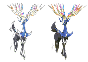Xerneas - Old S. and Modern Style