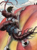 James and the Giant Peach by Tina-Rex