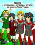 The Legend of Zelda : Lurking Shadows Prologue pg. by Mynhphrah