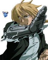 Edward Elric RENDER by The-Hench-Men