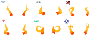 More fantroll horns and symbols FREE by Deaderidan